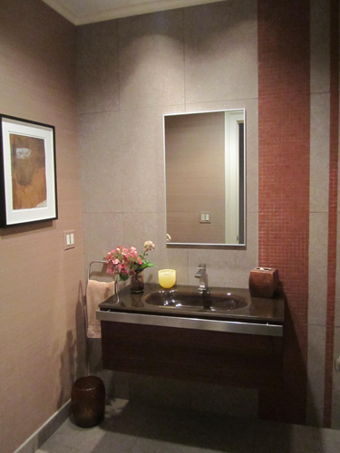 Modern Powder Room 1