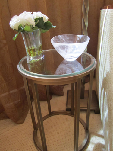 NY Bedroom Accent Table